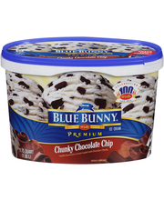 Blue Bunny® Premium Chunky Chocolate Chip Ice Cream 1.75 qt. Tub