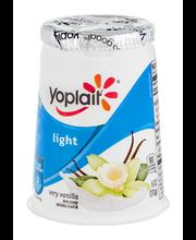 Yoplait® Light Very Vanilla Fat Free Yogurt 6 oz. Cup