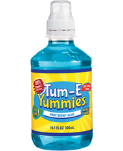 Tum–E Yummies® Very Berry Blue Fruit Flavored Drink 10.1 fl. ...
