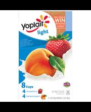 Yoplait® Light Strawberry/Harvest Peach Fat Free Yogurt Varie...