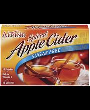 Alpine Spiced Apple Cider Sugar Free Instant Drink Mix 10 Ct Box