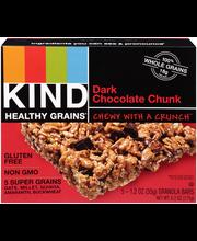 Kind Healthy Grains® Dark Chocolate Chunk Granola Bars 5-1.2 ...