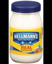 Hellmann's® Real Mayonnaise 8 fl. oz. Plastic Jar