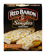 Red Baron® Singles French Bread 5 Cheese & Garlic Pizzas 8.80...