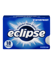 Eclipse Sugarfree Gum Winterfrost - 18 CT