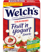 Welch's® Strawberry Fruit 'n Yogurt™ Snacks 8-0.8 oz. Pouches