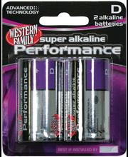 Wf Alk Battery D 2Pk