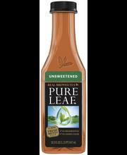 Lipton Pure Leaf Unsweetened Black Iced Tea 18.5 fl. oz. Bottle