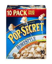 Pop-Secret® Homestyle Popcorn 10-3.2 oz. Bags