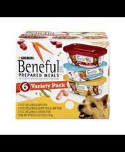 Purina Beneful Prepared Meals Variety Pack Dog Food 6-10 oz. ...