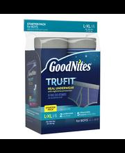 GoodNites® Tru-Fit Real Underwear Starter Pack L/XL for Boys