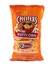 Chester's Puffcorn Cheese $2 Prepriced 4.5 Ounce Plastic Bag