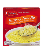 Lipton® Soup Secrets® Ring-O-Noodle Soup Mix with Real Chicke...