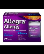 Allegra Allergy 24 Hour Relief Indoor and Outdoor Allergies -...