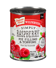Duncan Hines® Wilderness® Simply Raspberry Pie Filling & Topp...