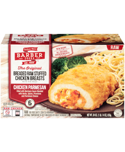 Barber Foods™ Breaded Raw Chicken Parmesan Stuffed Chicken Br...