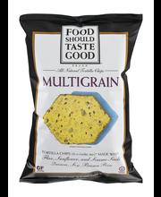 Food Should Taste Good™ Multigrain Tortilla Chips 5.5 oz. Bag
