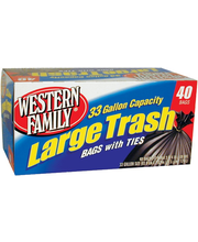 Wf Trash Bag 33 Gal