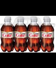 Diet Coke® 8-12 fl. oz. Plastic Bottles