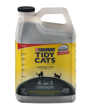 Purina Tidy Cats Clumping Litter 4-in-1 Strength for Multiple...
