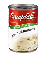 Campbell's® Condensed 98% Fat Free Cream of Mushroom Soup, 10...