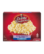 Orville Redenbacher's Gourmet Popping Corn Movie Theater Butt...