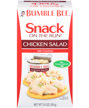 Bumble Bee® Snack on the Run! Chicken Salad with Crackers 3.5...