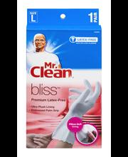Mr. Clean Bliss Premium Latex-Free Gloves Size L