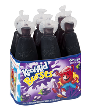 Kool-Aid Bursts Grape Soft Drink 6-6.75 fl. oz. Bottles