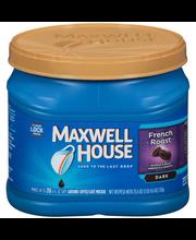 Maxwell House French Roast Ground Coffee 25.6 oz. Tub