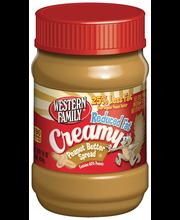 Wf Reduced Creamy Pnut Btr Spr