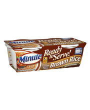 Minute Ready to Serve Brown 4.4 Oz Rice 2 Ct Cups