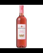 Beringer® White Zinfandel Wine 750mL Glass Bottle