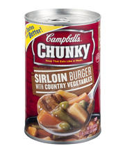 Campbell's® Chunky™ Sirloin Burger with Country Vegetables So...