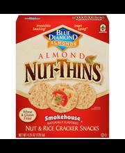 Blue Diamond® Nut-Thins® Almond Smokehouse® Nut & Rice Cracke...