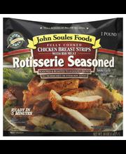 John Soules Foods® Rotisserie Seasoned Chicken Breast Strips ...