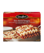 STOUFFER'S Party Size Five Cheese Lasagna 96 oz. Box