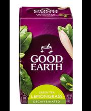 Good Earth® Citrus Kiss™ Decaffeinated Green Tea 18 ct Box