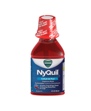 Vicks® NyQuil® Cold & Flu Nighttime Relief Liquid 8 fl. oz. P...