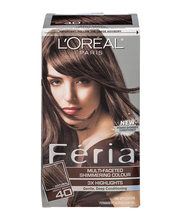 L'Oreal® Paris Feria® Multi-Faceted Shimmering Colour 40 Deep...