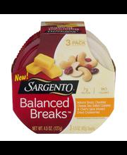 Sargento® Balanced Breaks® Natural Sharp Cheddar Cheese, Sea-...