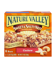Nature Valley™ Cashew Sweet & Salty Nut Granola Bars 6 ct Box