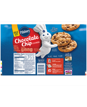 Pillsbury™ Refrigerated Cookies Chocolate Chip 30.0 oz Tube