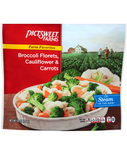 Pictsweet Farms® Farm Favorites Broccoli Florets, Cauliflower...
