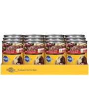 Pedigree Meaty Ground Dinner W/Chunky Beef Wet Dog Food 22 Oz...