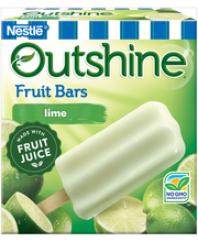 Outshine Lime Frozen Fruit Bars 6 Pack