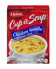 Lipton® Cup-a-Soup® Chicken Noodle with White Meat Instant So...