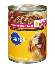 Pedigree® Meaty Ground Dinner with Chopped Beef Wet Dog Food ...