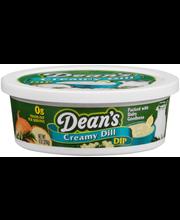 Dean's® Creamy Dill Dip 8 oz. Tub