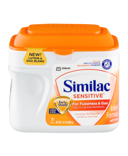 Similac Sensitive® OptiGRO™ Infant Formula with Iron 1.41 lb....